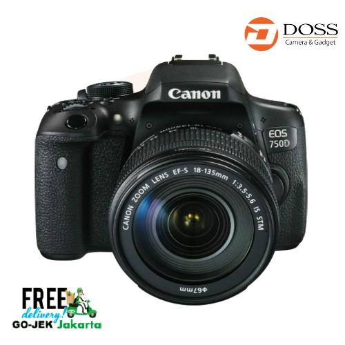 harga Canon eos 750d kit ef-s 18-135mm is stm Tokopedia.com
