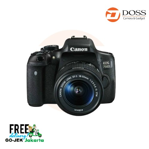 Jual Canon Eos 750d Kit Ef-S 18-55mm Is Stm Harga Promo Terbaru