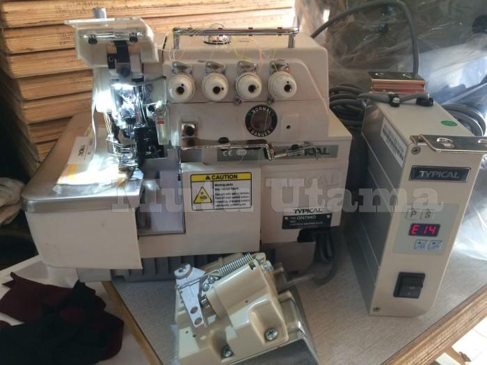Foto Produk Mesin Obras SERVO Typical GN 794D (SET) dari Mutu Utama Mesin Jahit