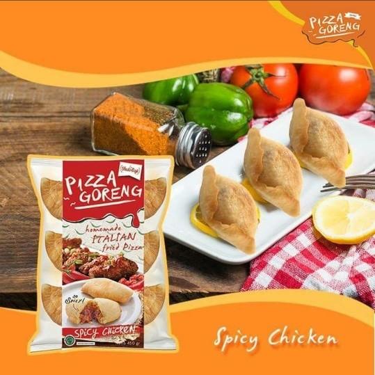 Pizza Goreng Indosaji - Spicy Chicken