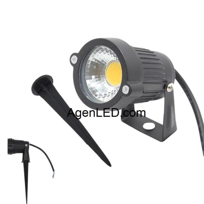 Harga Lampu Led 5 Watt Cob Tancap Sorot Taman Lukisan Dekorasi 5w Tokopedia