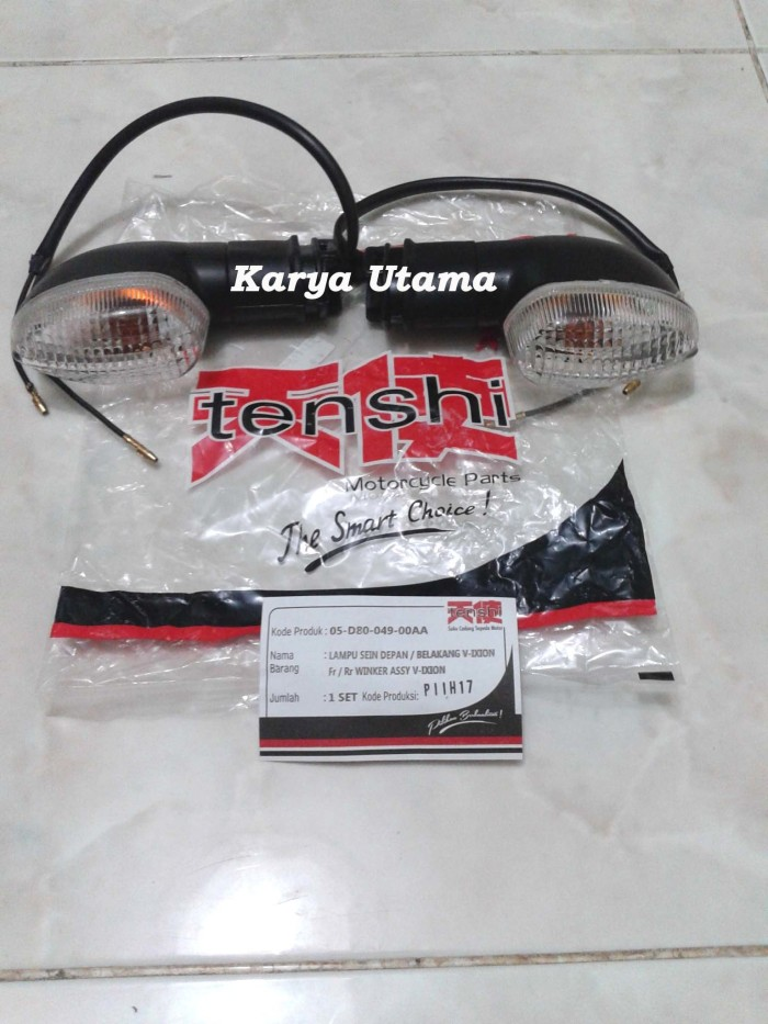 harga Lampu riting sein / sen depan vixion tenshi Tokopedia.com