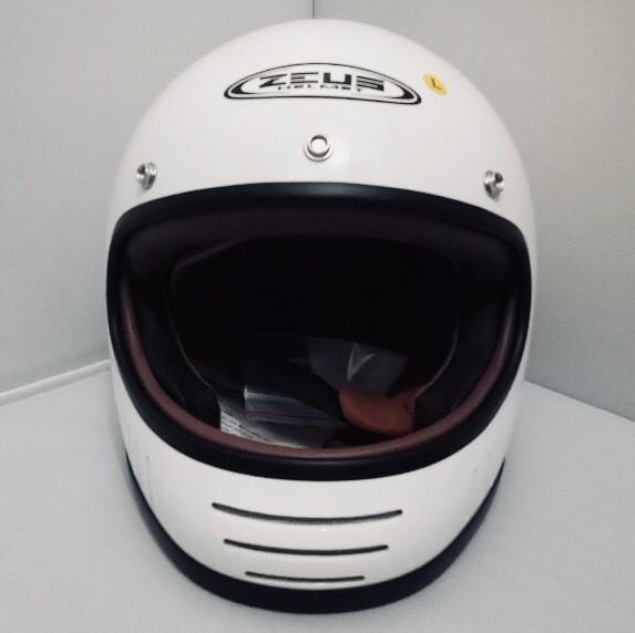 harga Helm cakil zeus 816 816c white retro harley jadul klasik robot m l xl Tokopedia.com