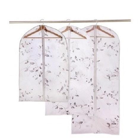 Foto Produk Pelindung Pakaian Semi-Transparan Motif Tanaman (58*108 Murah dari Perkakas Anda