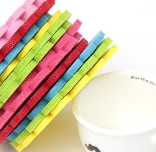Foto Produk Alas Cangkir / Mangkok Motif Gambar Kupu-Kupu dan Bunga Limited dari Perkakas Anda