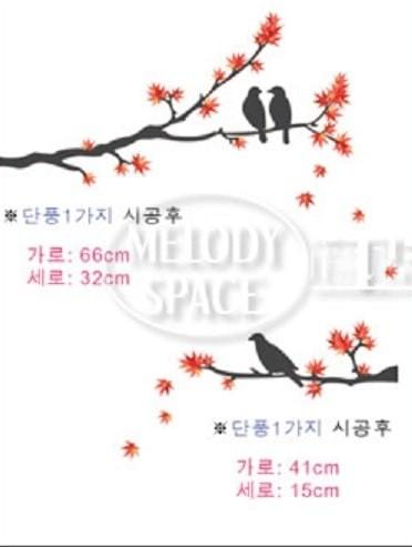 Foto Produk Set Stiker Dekorasi Dinding Motif 3-Ekor Burung di Rant Diskon dari Perkakas Anda