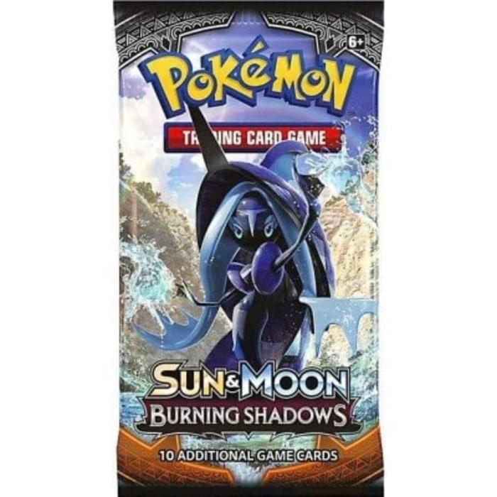 English Pok/èmon TCG Sun /& Moon Burning Shadows Mini Binder w//Booster