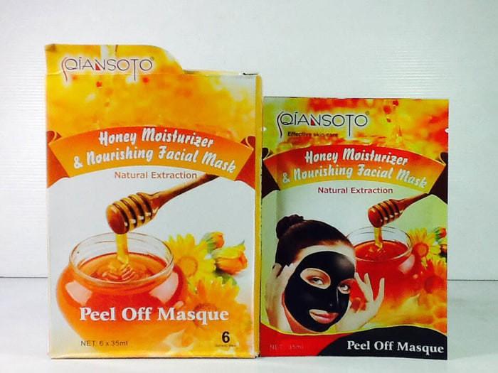 Masker Qiansoto Madu Honey Moisturizer Perawatan Wajah Cantik Manfaat