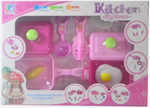 Jual Terbaik Mainan Anak Kitchen Set Play House Masak Perempuan Telur Jakarta Timur Piston Tokopedia