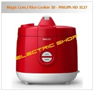 Jual (Diskon) Magic Com / Rice Cooker 3D - PHILIPS HD 3127 - Jakarta Barat  - VAY FURY | Tokopedia