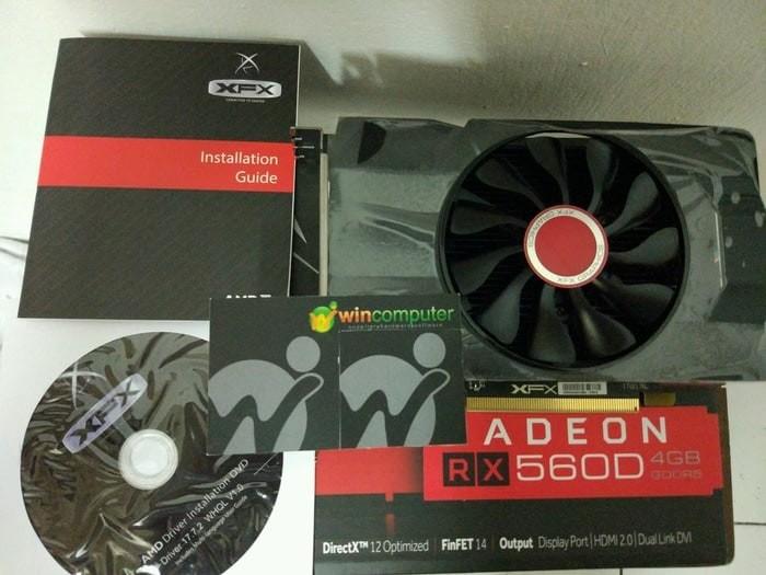 Jual XFX Radeon RX 560 4GB DDR5 - Single Fan - Kota Surabaya - Planet komp    Tokopedia