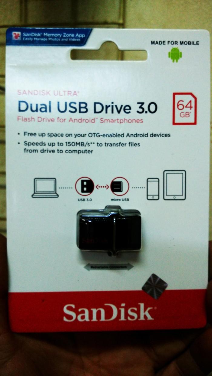 Jual Flashdisk Sandisk 64gb Cek Harga Di Samsung Otg Usb 30