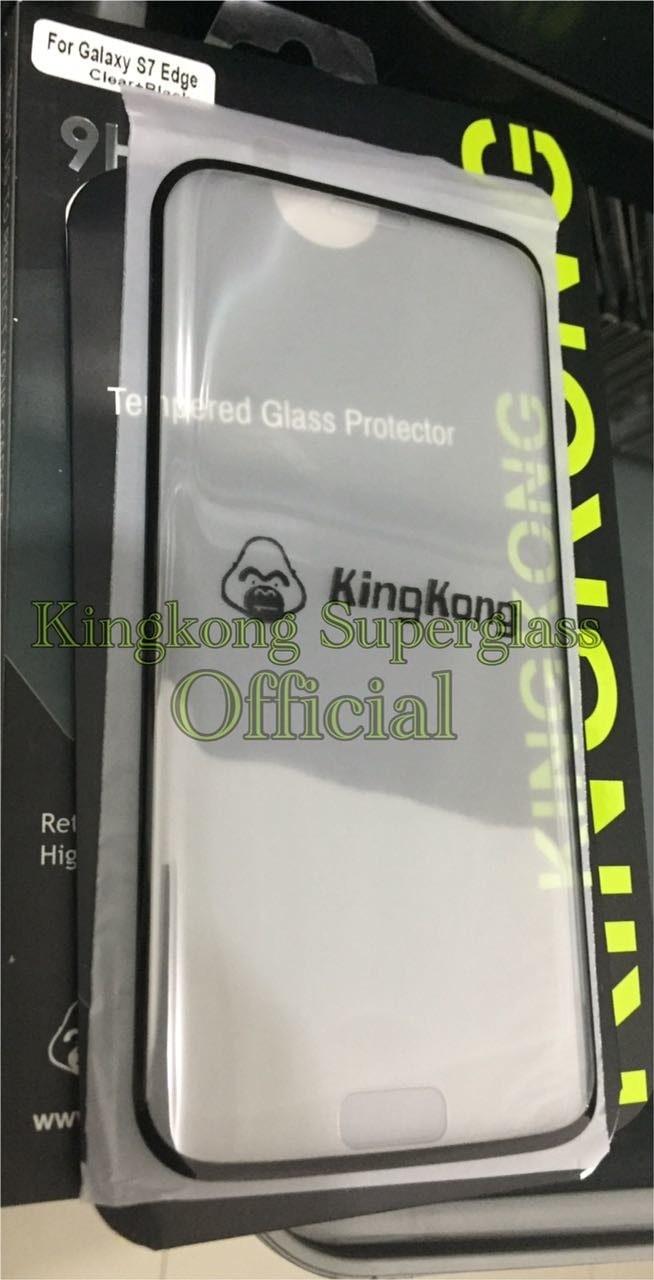 Jual Samsung Edge S7 Full Kingkong Tempered Glass Cek Harga Di Anti Gores Kaca Iphone 7 Ori Tokopediacom