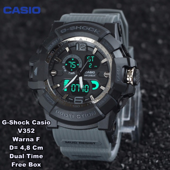 jam tangan pria sport Casio G-shock new edition