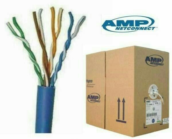 harga Kabel lan utp cat 6 / cat6 amp 1 roll original Tokopedia.com
