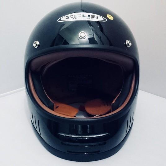 harga Helm cakil zeus 816 816c black retro harley jadul klasik robot m l xl Tokopedia.com