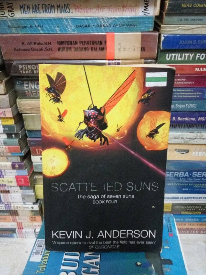 Jual Scattered Suns The Saga Of Seven Suns Book Four By Kevin J