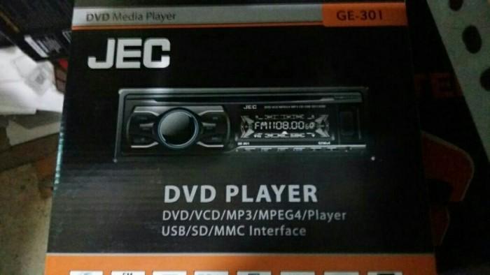 harga Single din dvd jec ge-301/dvd jec ge 301 Tokopedia.com