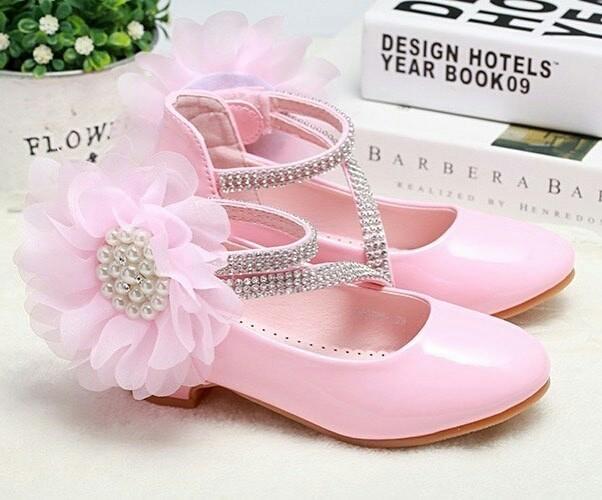 harga Premium flo shoes pink (bajukiddie) sepatu princess anak pesta import  Tokopedia.com c676f76487