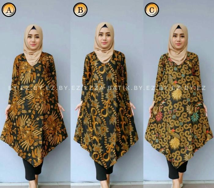 harga Tunik / tunic sogan - dress / rok / kemeja / blus / baju batik solo Tokopedia.com