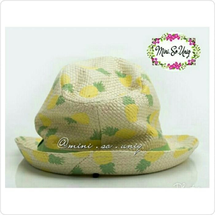 accfb43d995 Jual Kid Pineapple Straw Beach Hat Miniso - mini.so.uniq