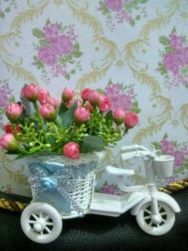 Jual bunga plastik sepeda bunga hiasan meja bunga hiasan ruang tamu ... 7c0a45cb97