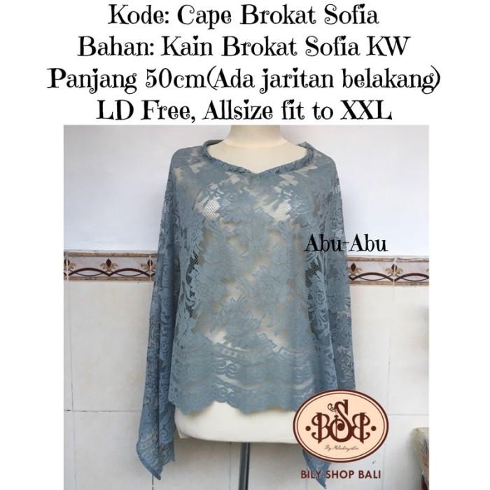 harga Cape brokat brukat atasan blouse outerwear outfit kondangan grosir bsb Tokopedia.com