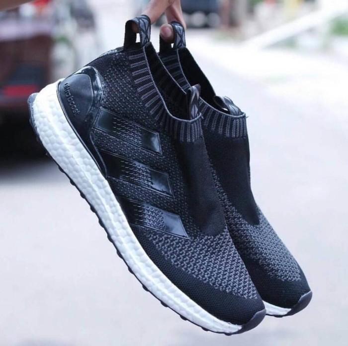 Jual Sepatu Adidas Ultra Boost Ace 16 Pure Control Import Pria ... 73a8c8f14f