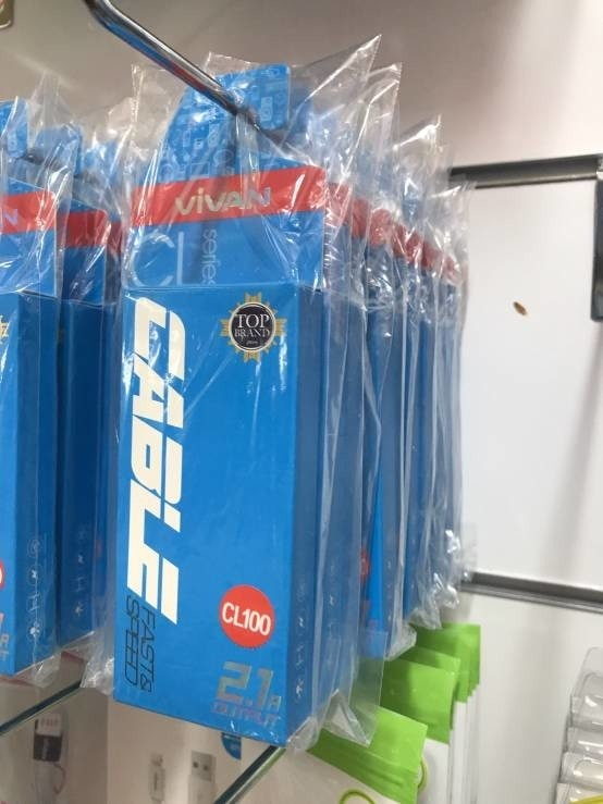 harga Kabel data cl 100 lightning iphone 5 6 ipad mini 180 cm vivan Tokopedia.com