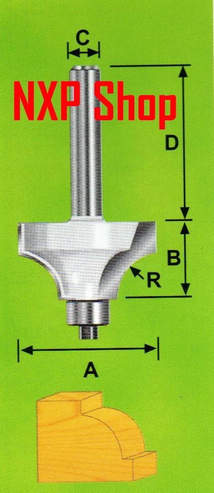 Mata profil kayu router bit beading bits 302-011 9.5mm r3