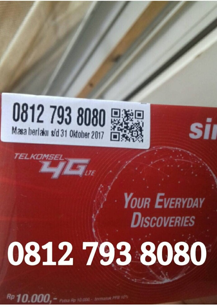 Perdana Kartu simpati 11 Digit G4NTENG Nomor Cantik S1MPLE .