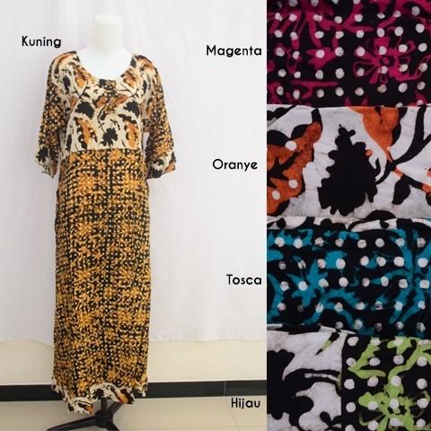 Jual Maura Dress Baju Daster Pakaian Tidur Batik Pekalongan 10 ... 7d50b03e11