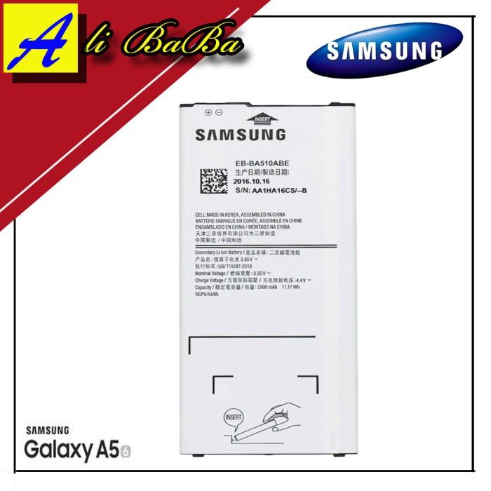 harga Baterai handphone samsung galaxy a510 a5 2016 batre hp battery samsung Tokopedia.com