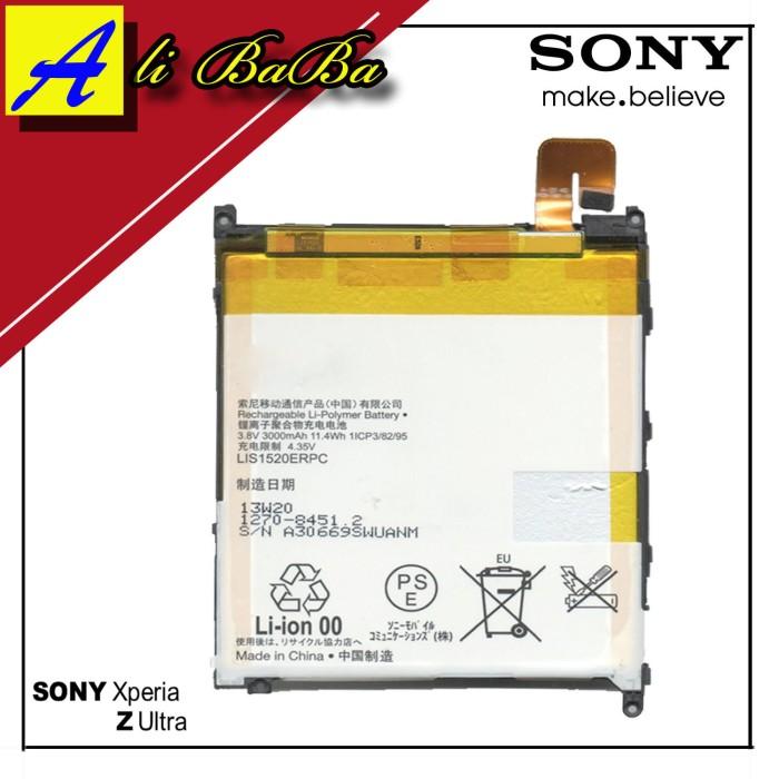 harga Baterai handphone sony xperia z ultra c6802 xl39zh batre hp battery Tokopedia.com
