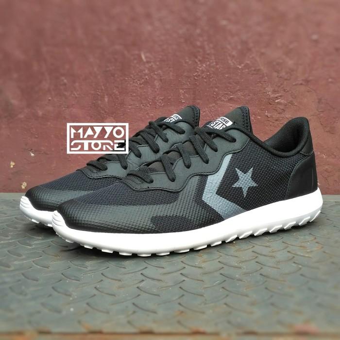 9cf29a88bd54 Jual Sepatu Original Converse Thunderbolt Ultra OX Black White ...