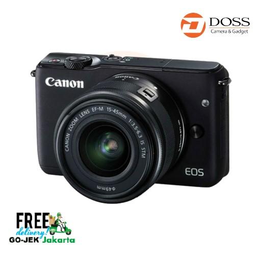 Jual Canon Eos M10 Kit Ef-M15-45mm (Black) Harga Promo Terbaru