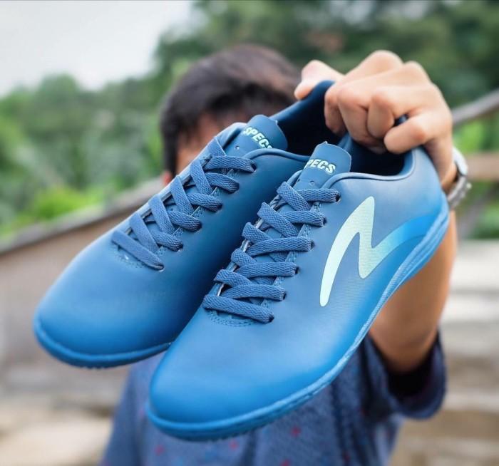Sepatu Futsal Specs Eclipse IN Navy Dazzling Blue BNIB Original Promo