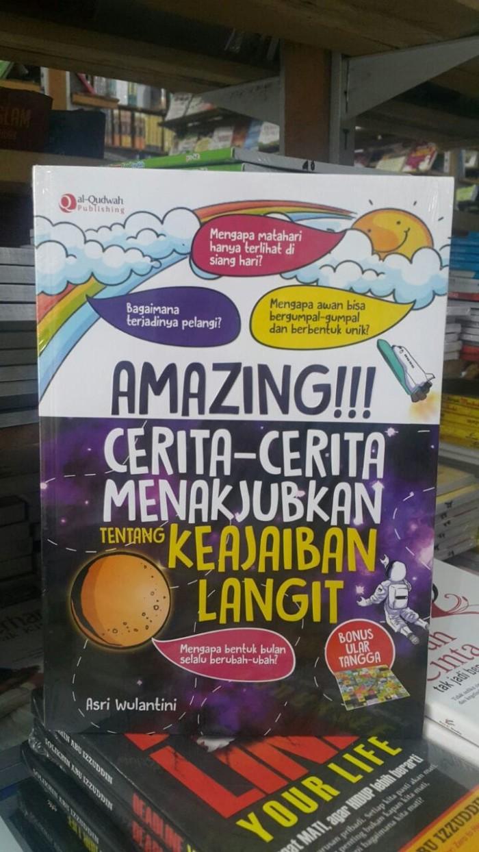 Jual Buku Sains Anak Islami Super Amazing Langit Kota Tangerang Selatan Mysha Nazaha
