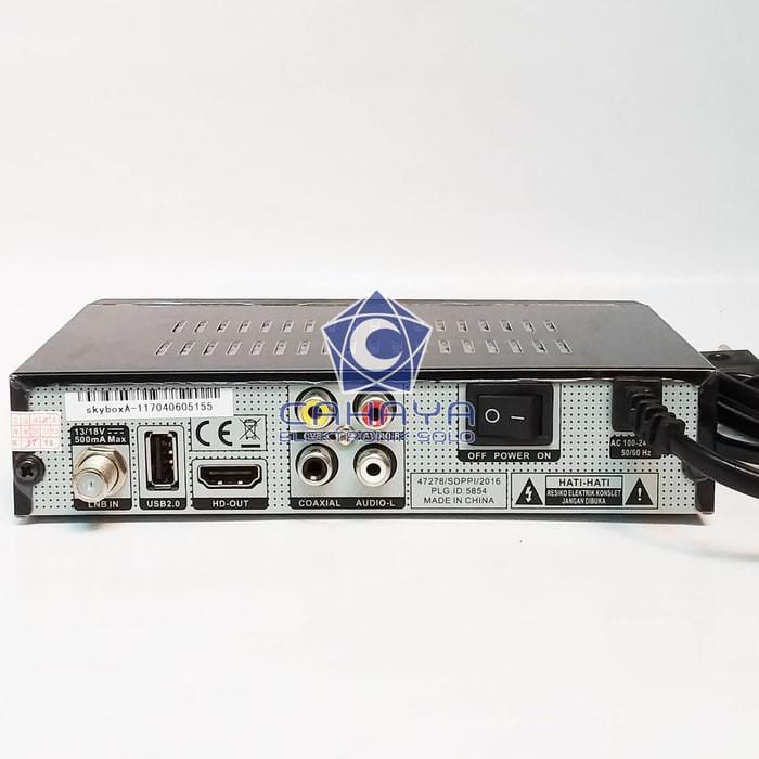 Jual New Skybox A1 HD Receiver Parabola AVS Powervu Autoroll Baru Tandberg  - DKI Jakarta - ChrispsToko   Tokopedia