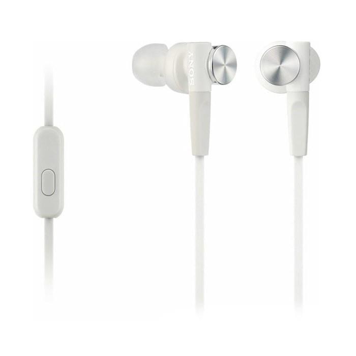 harga Sony earphone mdr - xb50ap/w - white Tokopedia.com