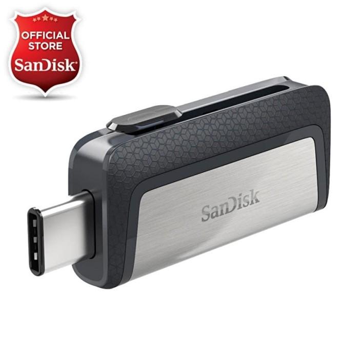 Foto Produk Sandisk OTG 64GB USB Type-C USB 3.1 Ultra Dual Drive dari SanDisk Official