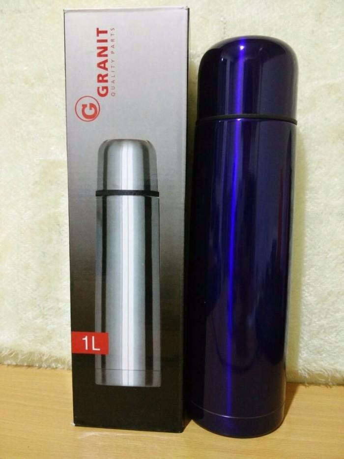 harga Termos air panas 1 liter travel untuk buat susu kopi teh makanan bayi Tokopedia.com