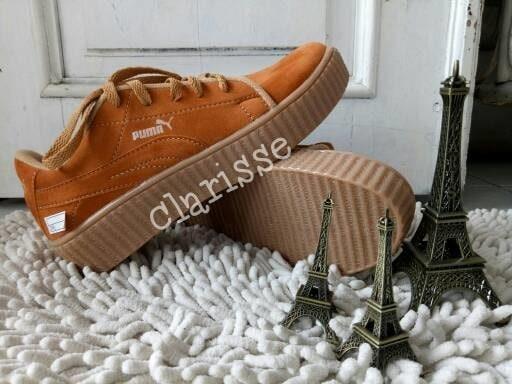 free shipping 5348c 0e493 Jual SEPATU PUMA FENTY CREEPERS RIHANNA TAN - Kota Bogor - Shoes Galeri    Tokopedia