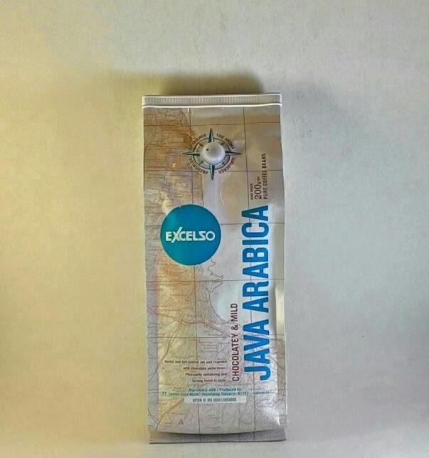 READY Excelso Coffee Java Arabica Single Origin Coffee Beans 200 gram