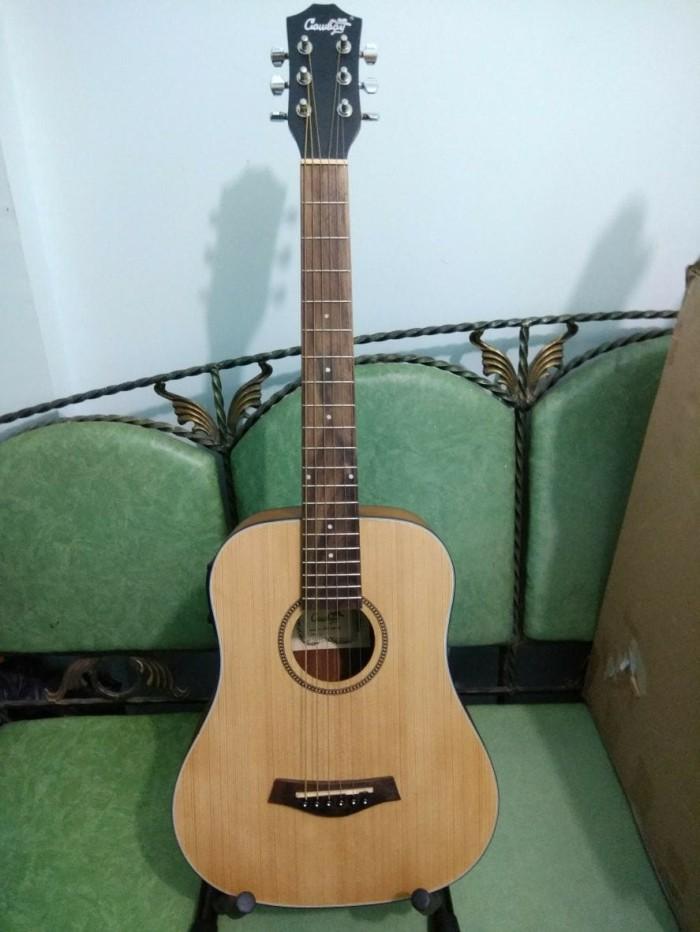 harga Gitar akustik cowboy natural 3 per 4 ori eq toner murah Tokopedia.com
