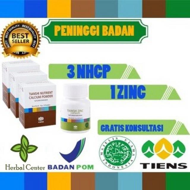 EXLUSIVE Tiens Nutrient Hight Calcium Powder DAN Zinc Peninggi Badan