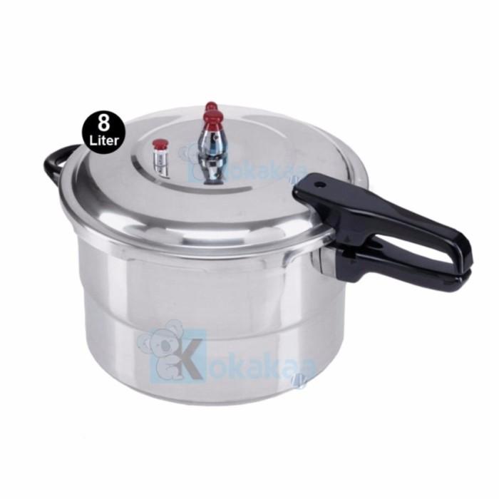 Niko Panci Presto 24 cm Capacity 8 Liter Pressure Cooker