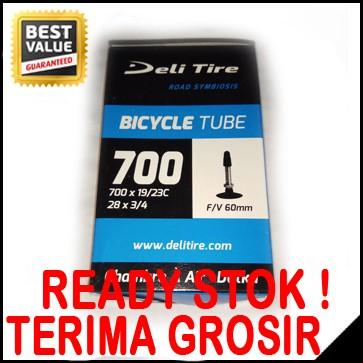 harga Ban dalam sepeda fixie 700 x 19/23c deli tire presta valve Tokopedia.com