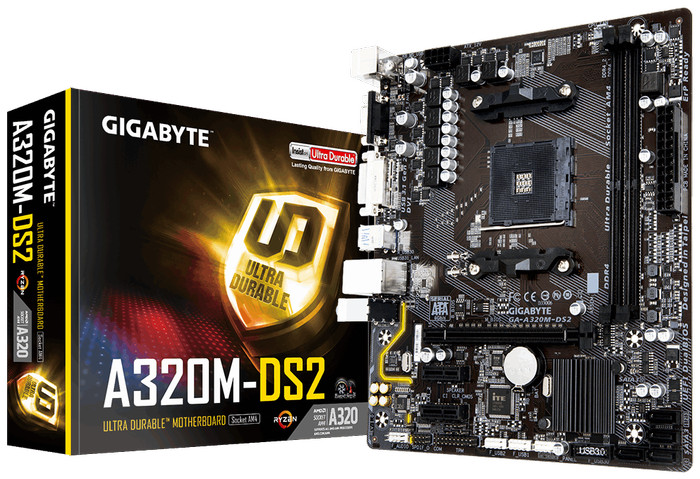 harga Motherboard gigabyte a320m-ds2 ga-a320m-ds2 Tokopedia.com