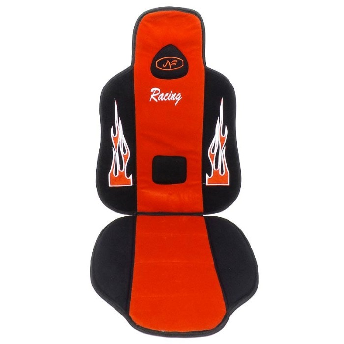 harga Autofriend ai sandaran jok racing alas duduk kursi mobil merah Tokopedia.com